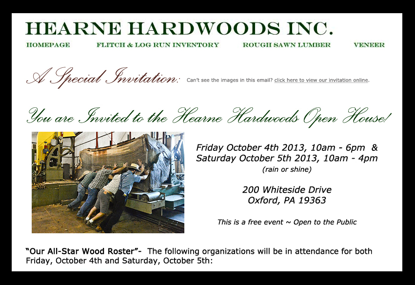 Hearne Hardwoods open house